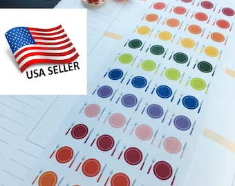 S015 Don/'t Forget,Push Pin Planner Stickers for Erin Condren Reminder Stickers