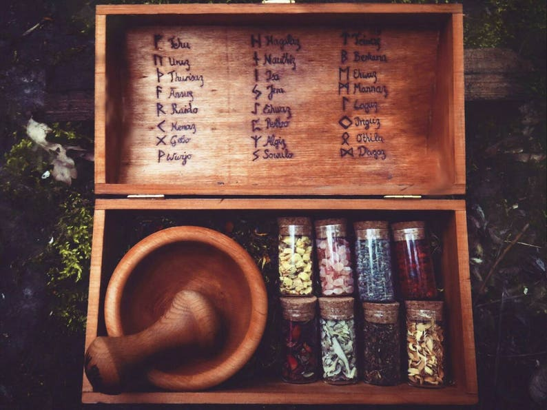 Witch Box  Herb Witch Box  Mix your own blends  Pagan  image 0