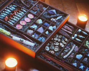 Mega Herb Witch Box - Witchcraft - Pagan - Wicca