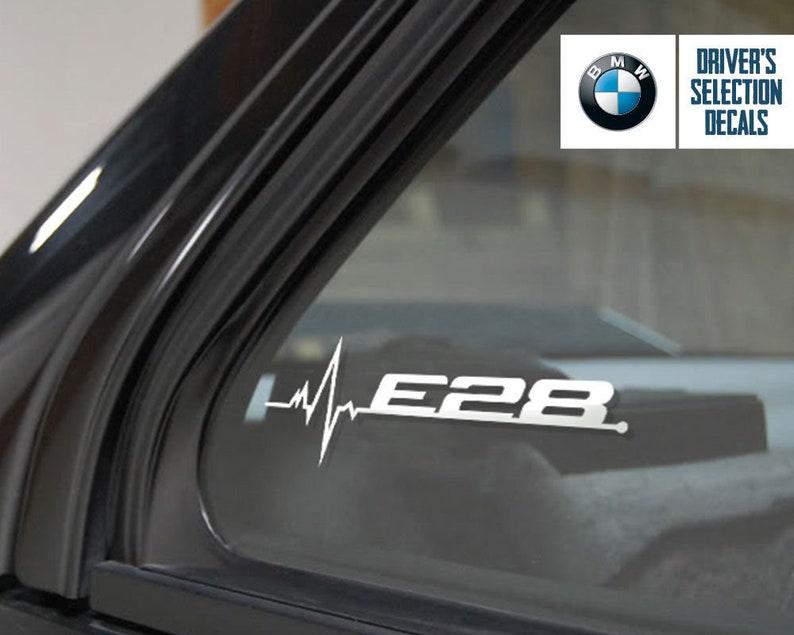 Bmw E28 Is In My Blood Window Sticker Decals Graphic Etsy