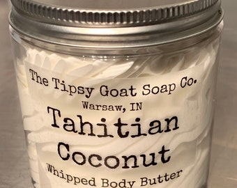 Tahitian Coconut Whipped Body Butter