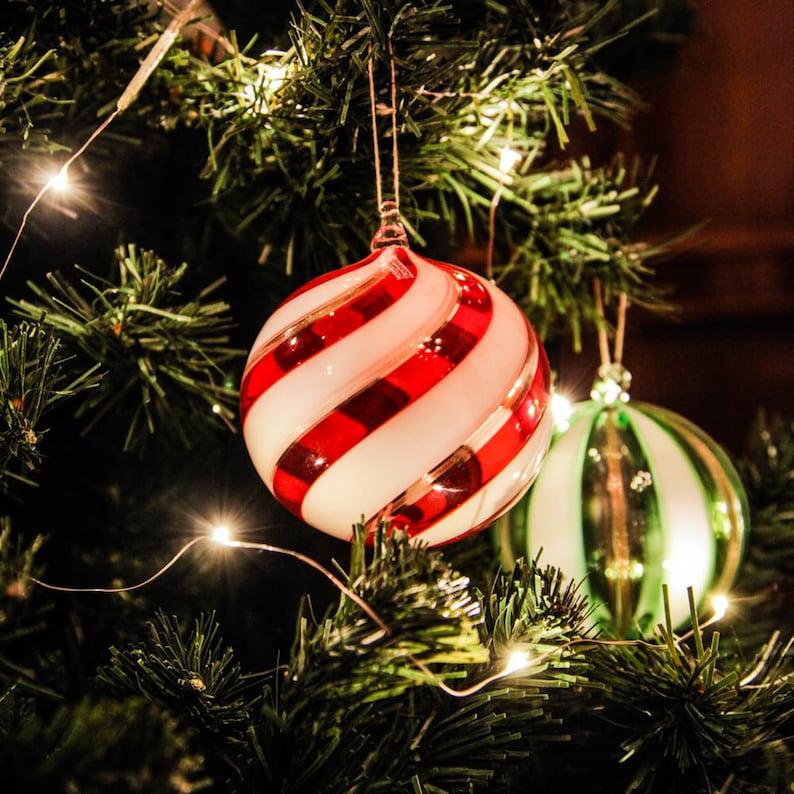 Murano Glass Christmas Balls One Piece