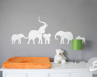 More Colors. Elephant Wall Decal ...