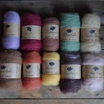 Worsted wool roving - the United