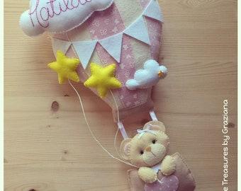 Bow birth Balloon Girl