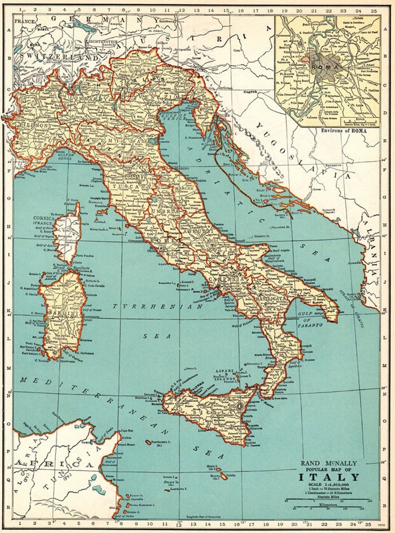 graphic regarding Printable Maps of Italy titled Antique Italy electronic map. Previous map of Italy print. Italy Printable Map. Map of Italy