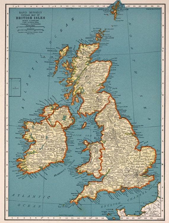 Versatile image intended for printable map of england