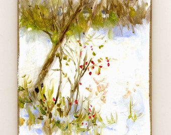 Spring Trying Original Oil Painting