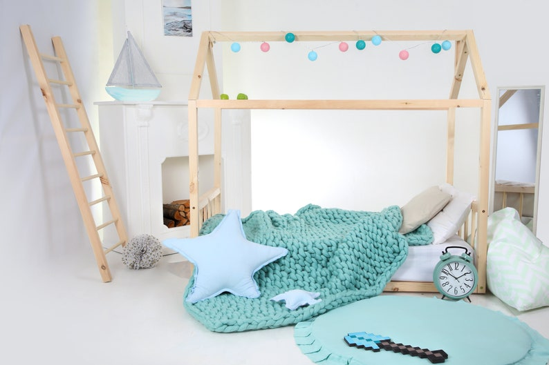 Huis Bed Peuter.Peuter Bed House Bed Tent Bed Houten Huis Houten Huis Houten Etsy