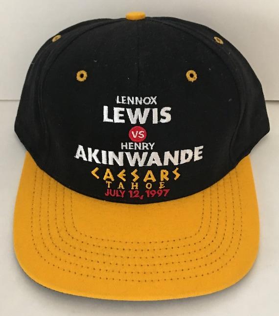 De La Hoya v NEW Caesars Palace Las Vegas 1999 Quartey The Challenge Vintage Boxing Hat