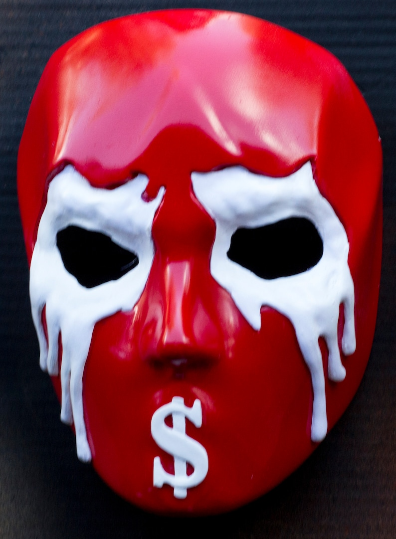 from Hollywood Undead red ver. J-Dog FIVE mask