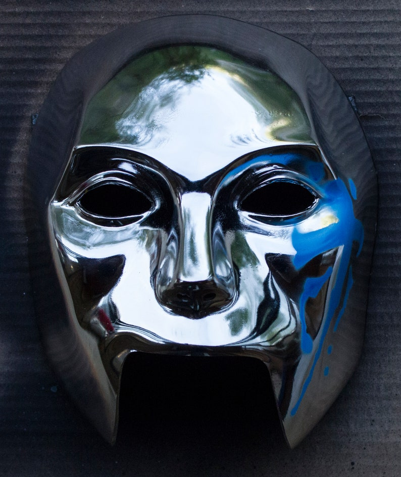 Danny mask from Hollywood Undead performance Silver metalized ver.