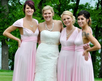 Baby Pink Bridesmaid dress af70dd4e7449