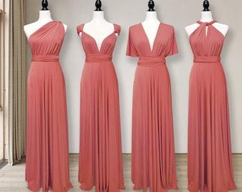 CLAY Bridesmaid Dress convertible wrap dress, CLAY infinity dress Multi-way Wrap Dress Maternity Dress Party Dress Plus Size & Petite