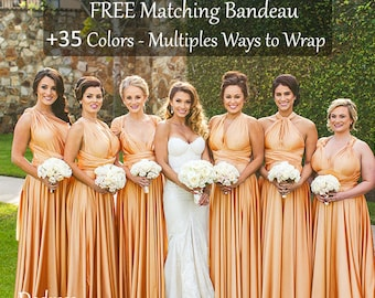 ffccdbf281187b Gold bridesmaid dress