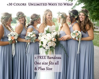Charcoal Color Bridesmaid Dresses