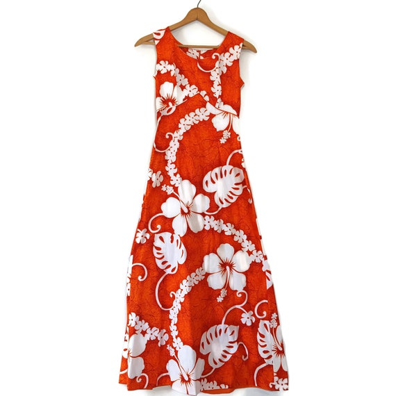 Hawaiian Beach Party Maxi Dress