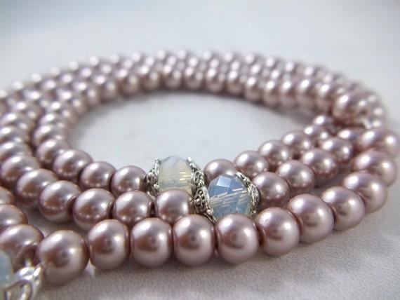 Bracelet fait main Section du bracelet en cristal blanc de haute qualit/é islamique musulman tasb/îh bracelet chapelet 33 cadeaux de bijoux en cristal fait main cadeaux de No/ël Ramadan