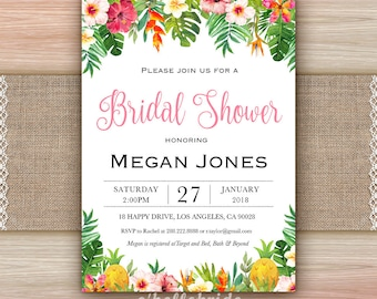 Luau bridal shower invitation etsy printable tropical bridal shower invitation cards tropical bridal shower invitations printable luau bridal shower invitation 038 filmwisefo