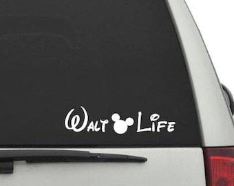 Walt Life Vinyl Decal
