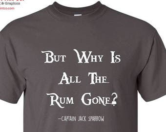 Pirates of the Caribbean Jack Sparrow Quote Tshirt