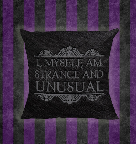 Tim Burton Beetlejuice Quote 14 Pillow Etsy