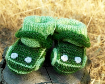 Baby Boots - CARS.Baby booties.