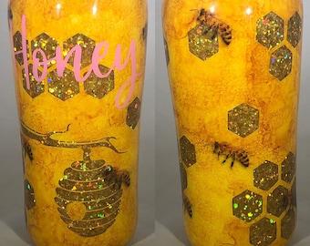 Bee Tumbler Etsy