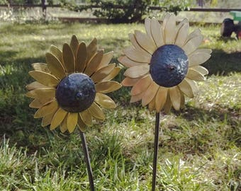 Brass Sunflowers - Home Decor