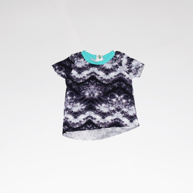 Tie Dye French Terry Angeled Tee image 0