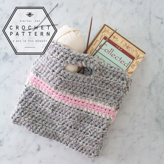 Pattern Simple Crochet Purse Easy Crochet Pattern For Etsy