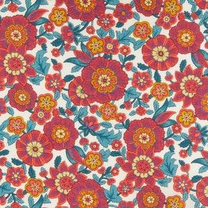 fabric by the half yard Liberty of London Botanist Diary C Tana Lawn Half Yard Fabric by the yard Liberty of London Fabric