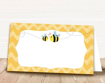 Printable Food Tent Cards for Bumble Bee Baby Shower - Printable Food Labels - Baby Shower Place Cards - Party Tent Cards 007  sc 1 st  Etsy & Bee food tent | Etsy