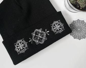 bed29621606d3 Black beanie hat