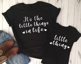 21c9850ae Little things in life/Mama's mini shirt/mom and me shirts/mom daughter  shirts/Mothers day shirt/mother daughter shirt/daughter mom shirt