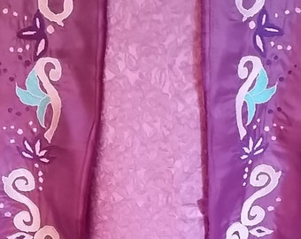 Rapunzel Embroidery - Rapunzel Skirt Embroidery - Machine Embroidery Pattern - Rapunzel Cosplay
