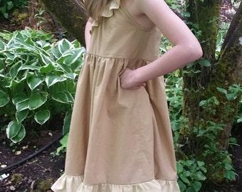 Pocahontas Dress Closeout - Pocahontas Inspired Cotton Dress - Pocahontas Play Dress - Pocahontas Disneybound - Girls Pocahontas Costume
