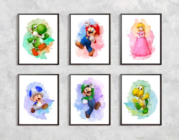 Super Mario Print Super Mario Bros Printable Mario