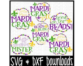 Mardi Gras Svg Happy Mardi Gras Y All Beads Cut File Etsy