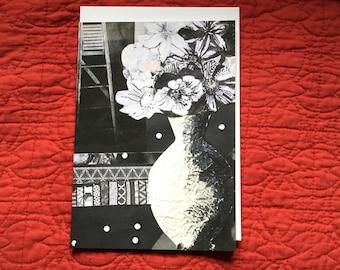 Vase in Moonlight Card