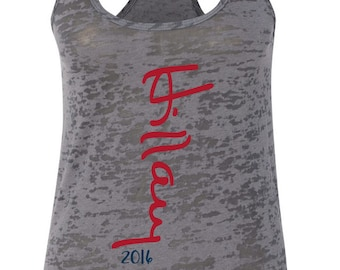 Hillary Clinton for President 2016  Signature Burnout Racerback - FREE SHIPPING - Racer Back Tank Top