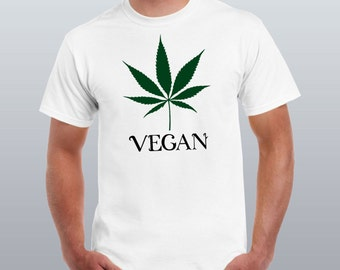 Adult Addicted Weed Leaf 420 Pot 100/% Cotton Premium Tank Top