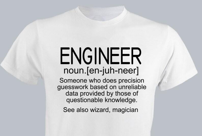 3cd2aa7bc Engineer Description Men T-shirt 3XL Birthday Funny Gift For   Etsy