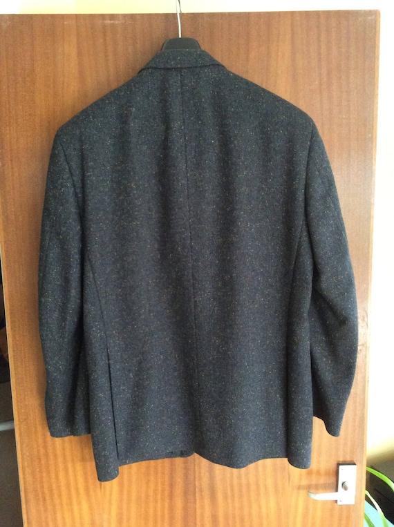 Souverain par soie Gurteen, laine et soie par (motif Donegal Tweed) sport léger veste, taille 40 285e5e