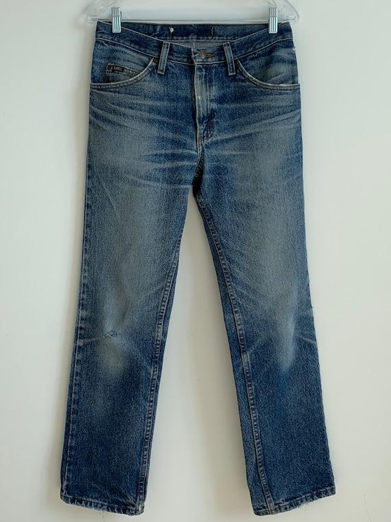 Vintage 1980s distressed Lee boyfriend jeans