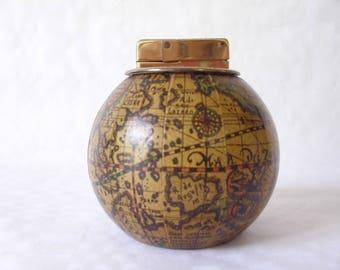 Terrestrial globe lighter