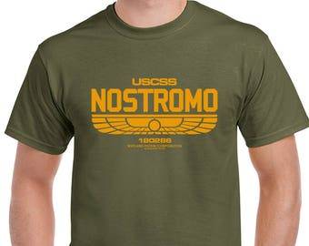Nostromo Mens Alien Inspired T-Shirt