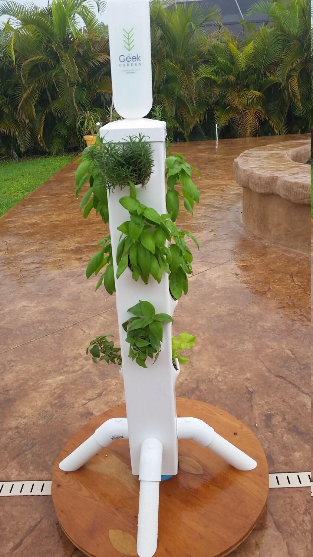 Vertical garden. The RocketFarm vertical garden from The Geek | Etsy
