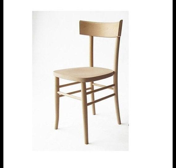chaise en bois brut peindre. Black Bedroom Furniture Sets. Home Design Ideas