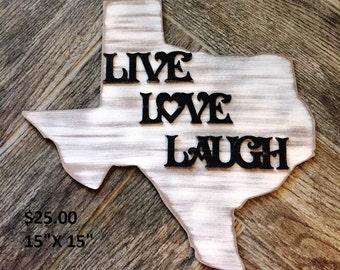 Live, Love, Laugh Decor